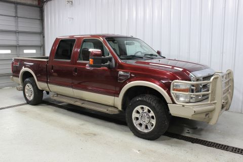 2010 Ford Super Duty F-250 SRW 4WD Crew Cab 156 King Ranch